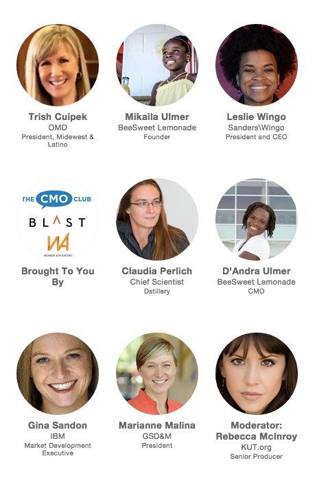 """""""Dancing on the Ceiling"""" @SXSW: Panel Hosted By Blast Public Relations, The CMO Club, and Women Advancing"""